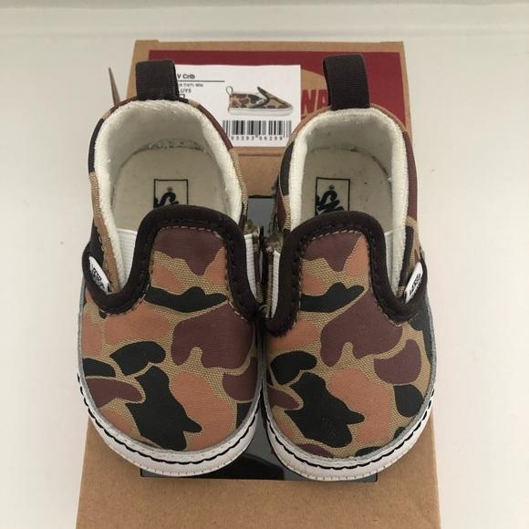 Vans Shoes | Camo Baby | Poshmark